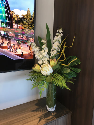 office floral arrangements. The Towers At Elizabeth Quay Sales Office - Custom-made Artificial Floral  Arrangements Office Floral Arrangements