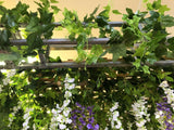 For Hire - Canopy / Truss Decorated with Wisteria 3.4 x 2.4 meter