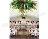 For Hire - Hanging Centrepieces 200cm x 100cm