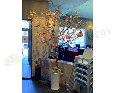 Aquarium Seafood Chinese Restaurant (Ascot) - Artificial Pink Blossom Tree