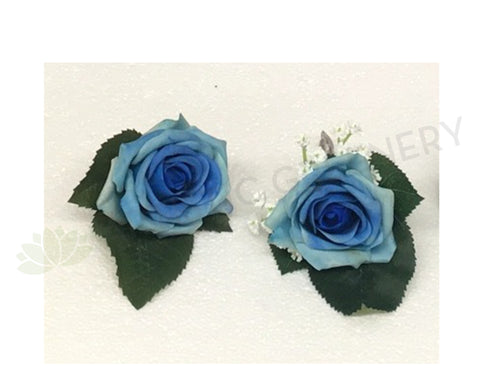 Buttonhole - Blue Rose Real Touch - Nicole M