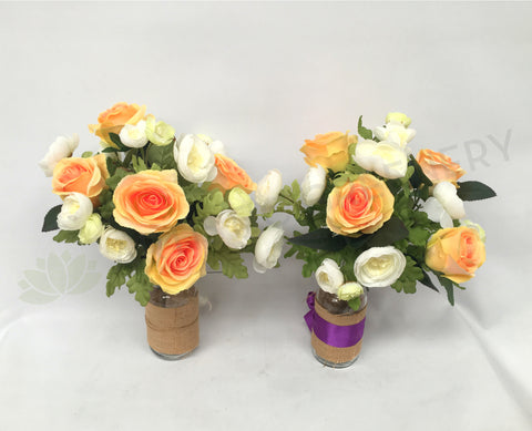 Silk Sympathy Graveside Funeral Flower Arrangements Perth