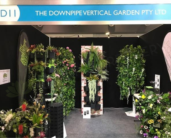 The Downpipe Vertical Garden (at Home Show Perth) 2018