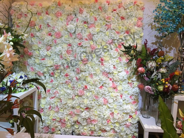 For Hire Flower Wall Hire Cheap Perth White Amp Pink 210