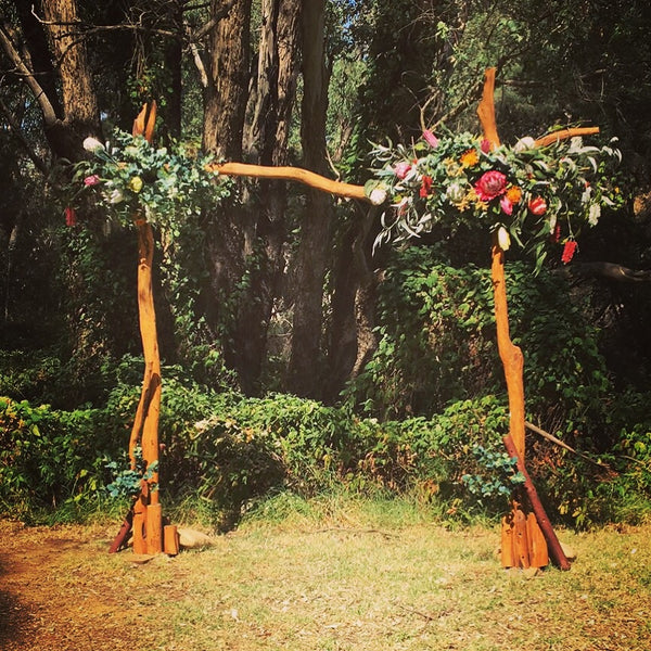Wedding Arbor Perth Hire Rustic Arbour Wedding Arch Floral