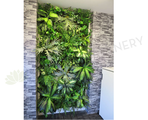 Free Standing Vertical Garden / Greenery Wall For Hire