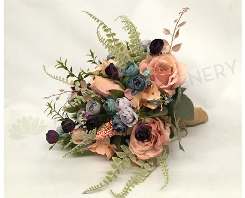 Vintage bouquet for affordable wedding perth silk flowers malaga round bouquet vintage style bouquet mightylinksfo