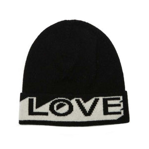 LOVE HAT BLACK WHITE - GREEN THOMAS