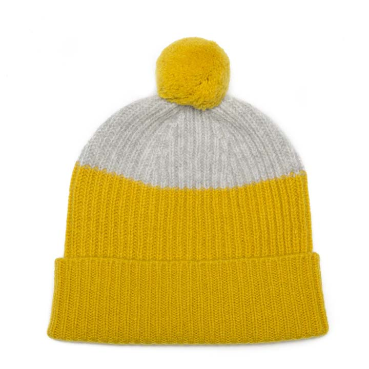 POM HAT GOLD SILVER - GREEN THOMAS