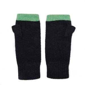 FINGERLESS GLOVE NAVY MINT - GREEN THOMAS