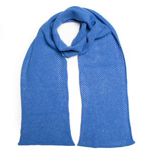 WHISPER SCARF BLUE - GREEN THOMAS