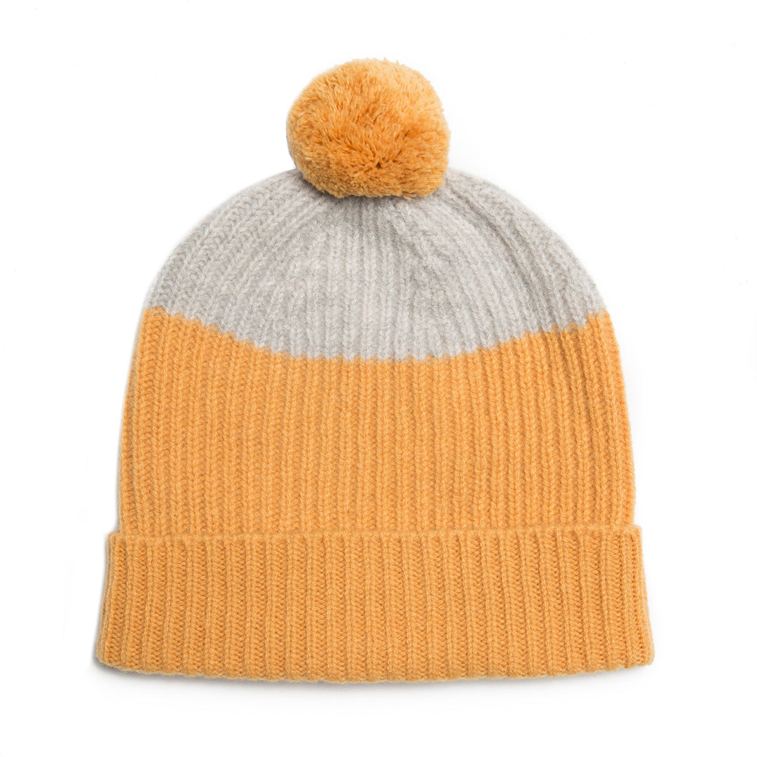 POM HAT AMBER SILVER - GREEN THOMAS