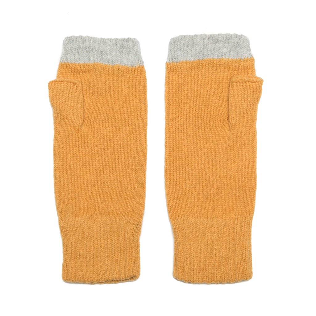 FINGERLESS GLOVE AMBER SILVER - GREEN THOMAS