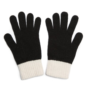 GLOVE BLACK WHITE - GREEN THOMAS