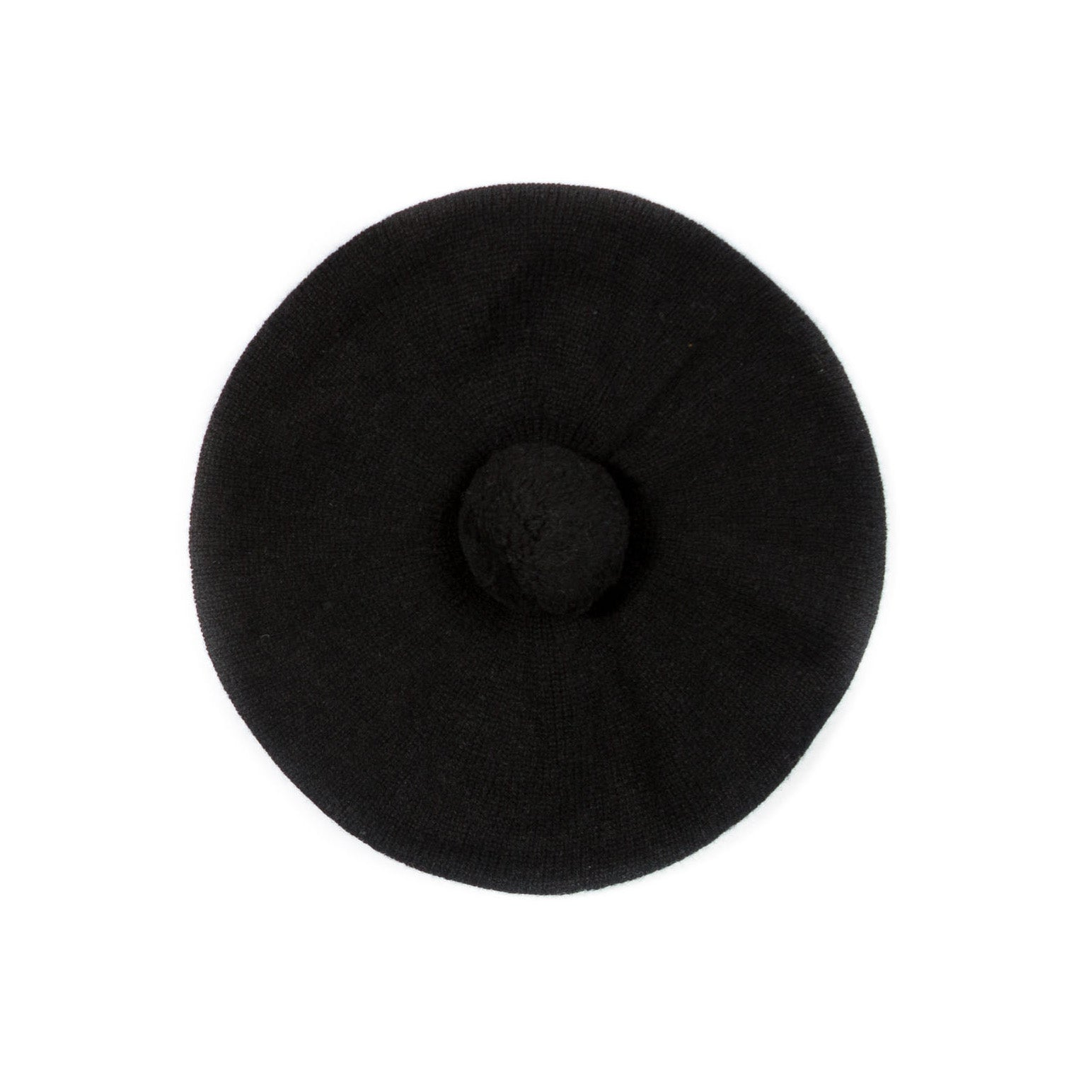 CASHMERE BERET - GREEN THOMAS