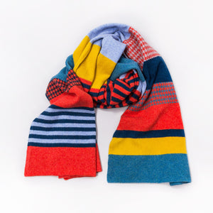 HERO MIX SCARF - GREEN THOMAS