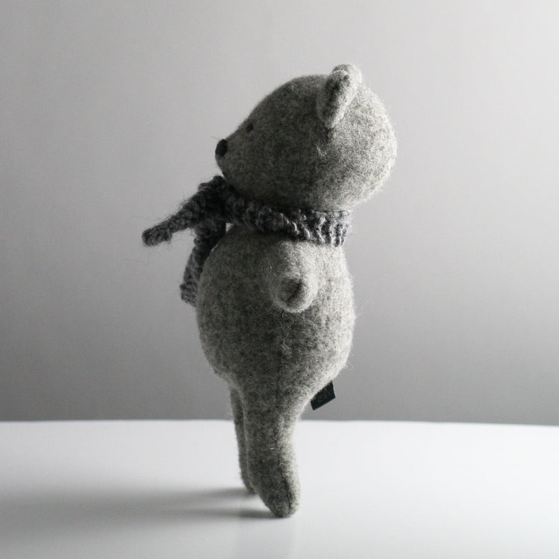 Albert Dog Toy - Grey