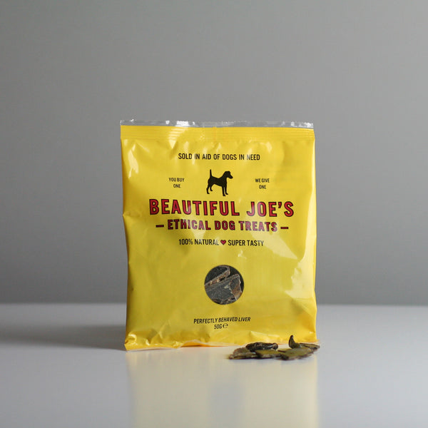 BEAUTIFUL JOE'S Ethical Dog Treats and Tin
