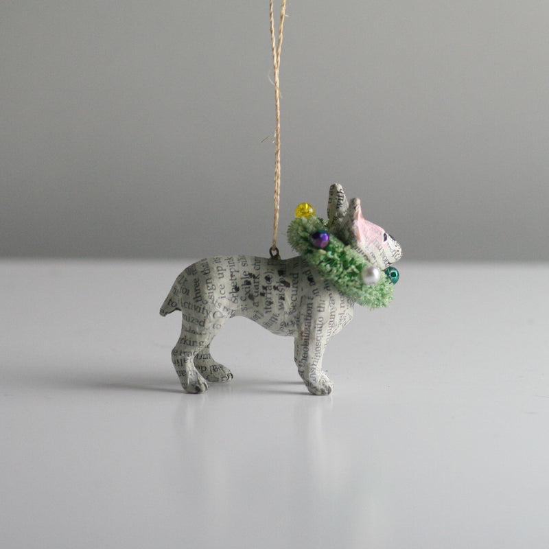 Cody Foster French Bulldog Dog  Christmas Tree Decoration