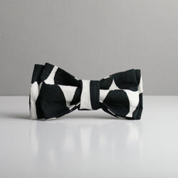 Gemma Bow Tie - Black & White