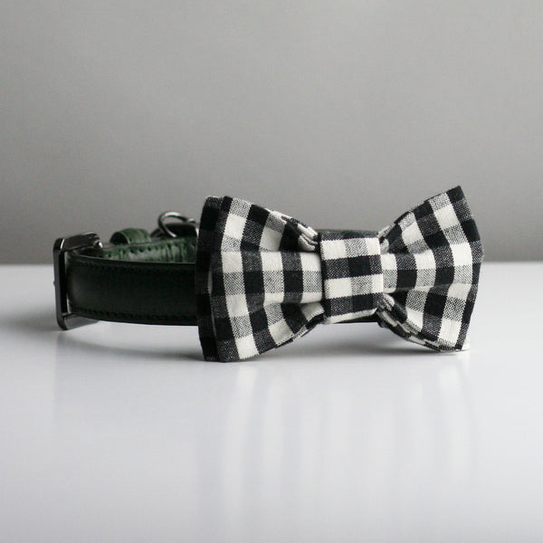 Gerrard Bow Tie - Black & White