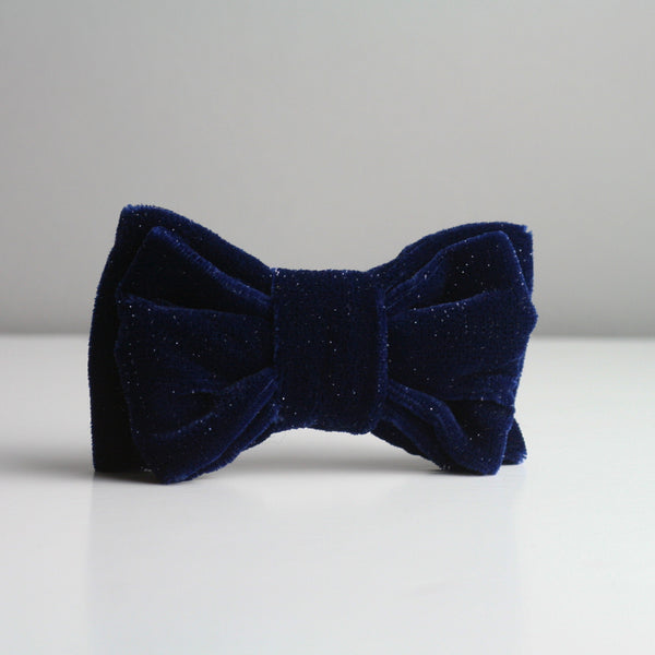 Louis Bow Tie - Blue Sparkle
