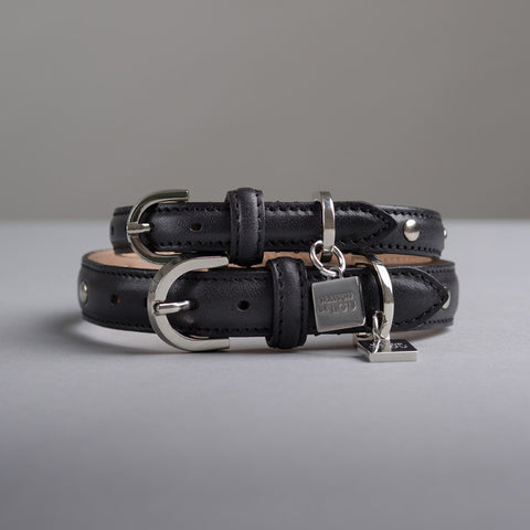 Gloria Dog Collar - Black