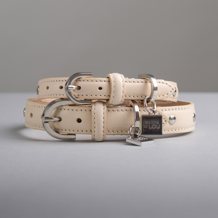 Gloria Dog Collar - Vanilla