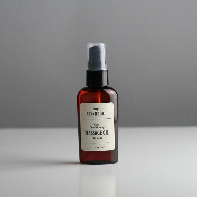 FOX & HOUND Coat Conditioning Massage Oil 59ML