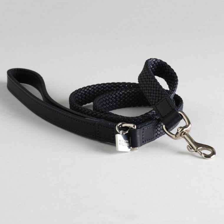 Brady Dog Lead - French Navy