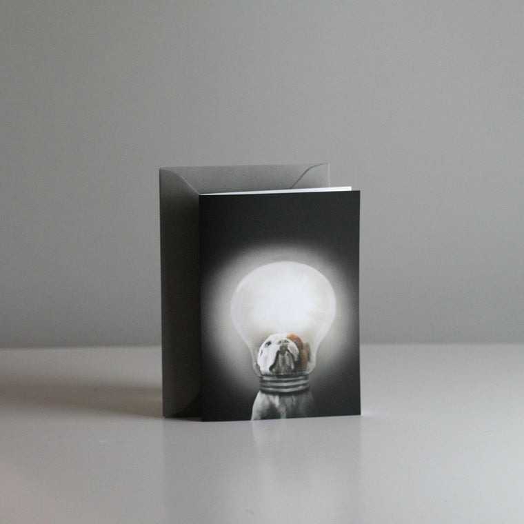 Brixton The Frenchie A6 Card - Bright Ideas