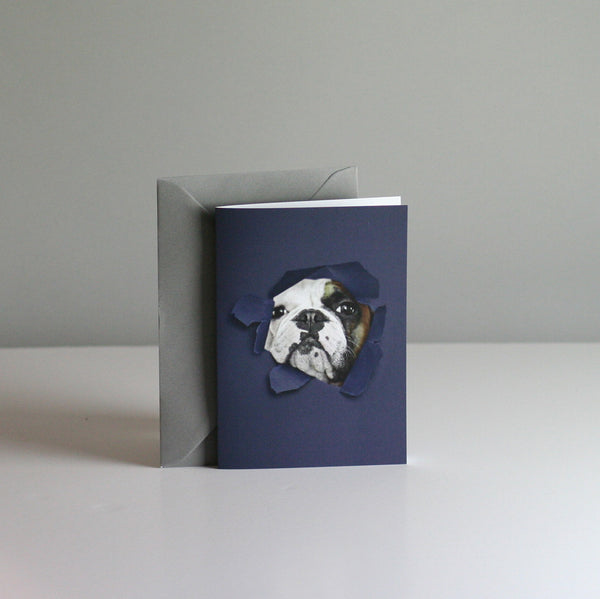 Brixton The Frenchie A6 Card - Hello