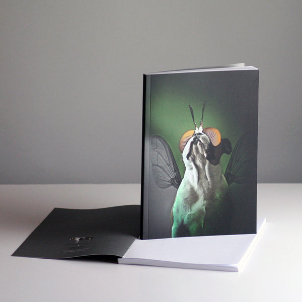 Brixton The Frenchie A5 Notebook - The Fly