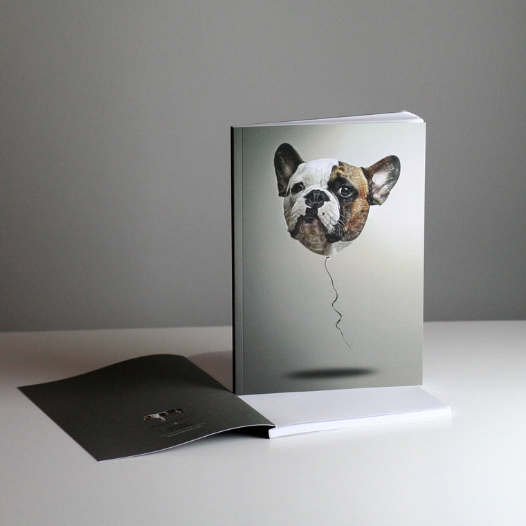 Brixton The Frenchie A5 Notebook - Balloons