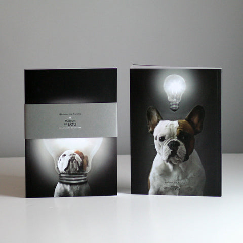 Brixton The Frenchie A5 Notebook - Bright Ideas
