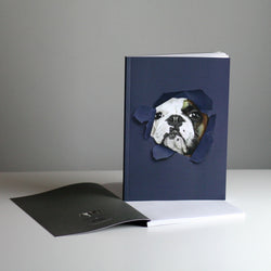 Brixton The Frenchie A5 Notebook - Hello