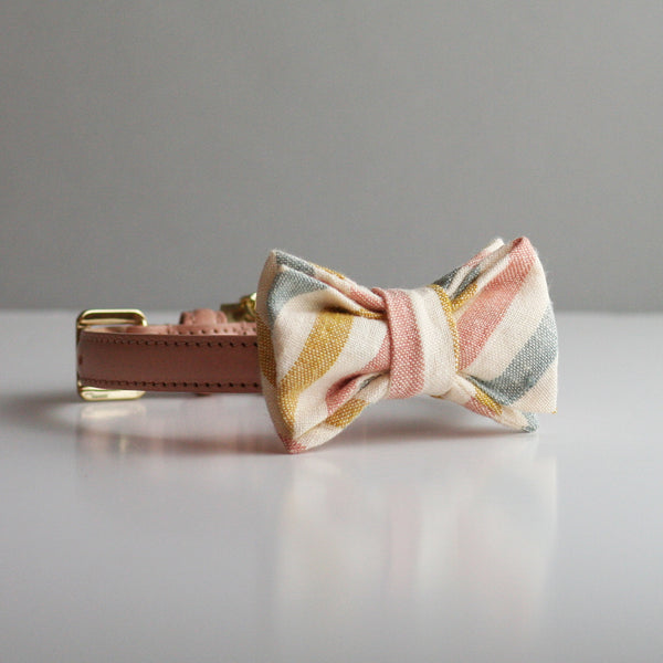 Gilly Bow Tie - Candy Stripe