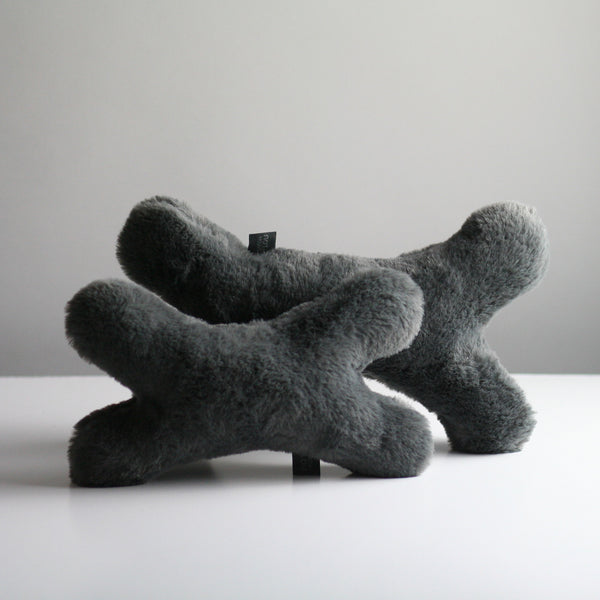 Bonie Plush Dog Toy - Dark Grey
