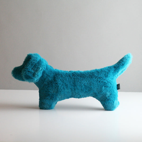 Cecil Dog Toy - Aqua