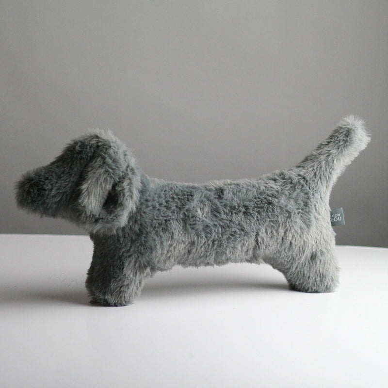 Cecil Dog Toy - Grey
