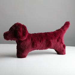 Cecil Dog Toy - Wine