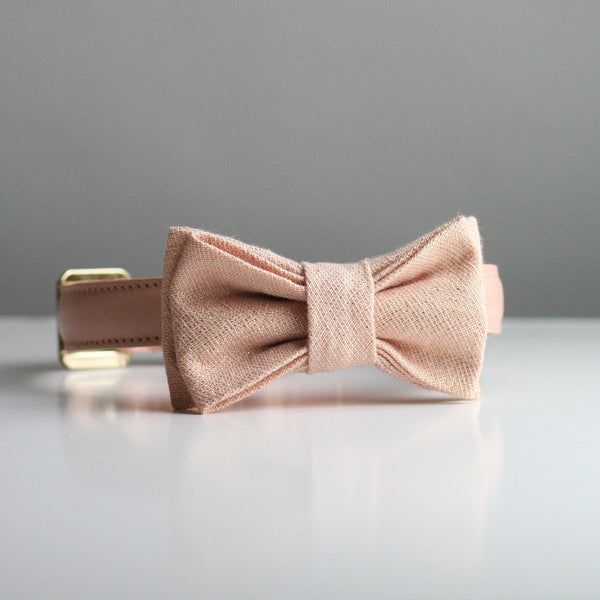Lola Bow Tie - Rose Gold
