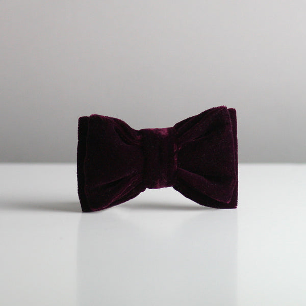 Louis Bow Tie - Plum MORE STOCK COMING SOON