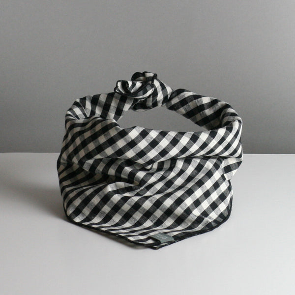 Muret Dog Bandana - Black & White