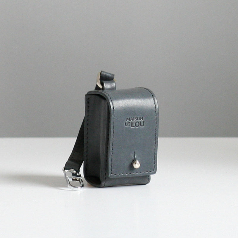 Vincent Poop Bag Case - Grey