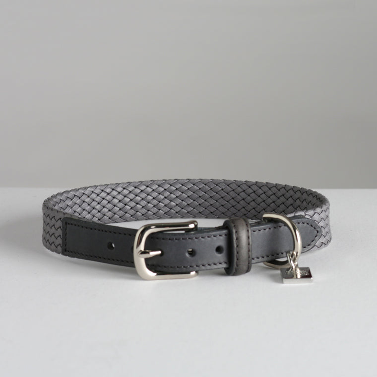 Bernard Dog Collar - Grey