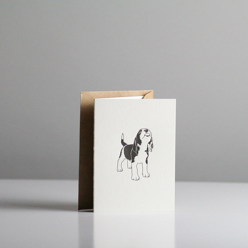 Penguin Ink - Beagle Card