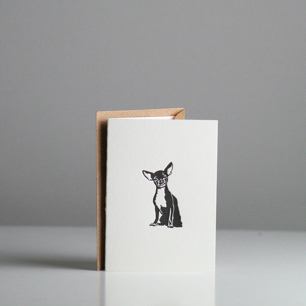 Penguin Ink - Chihuahua Card