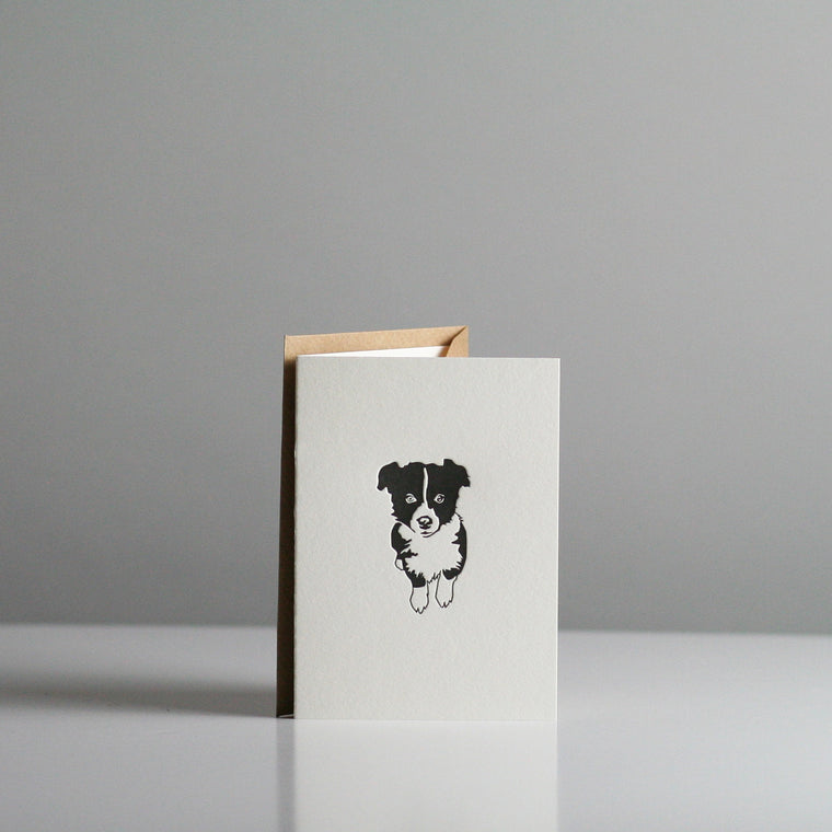 Penguin Ink - Border Collie Card