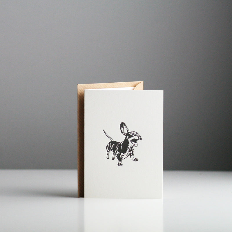 Penguin Ink - Dachshund Card